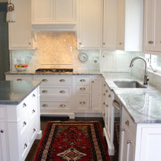 Traditional Kitchen by M B Wilson Interior Design