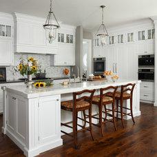 Traditional Kitchen by M B Wilson Interior Design