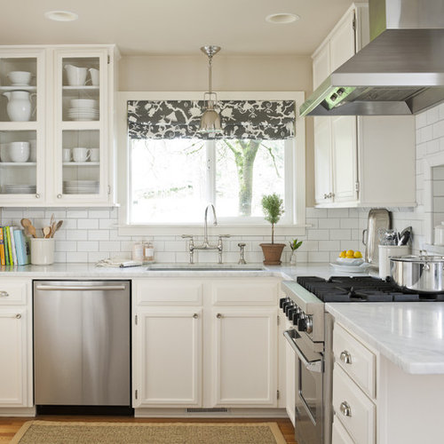 White Kitchen Tiles Grey Grout: White Subway Tile Grey Grout