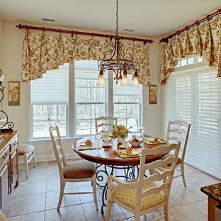 Traditional kitchen remodeling - Elegant kitchen photo in New York