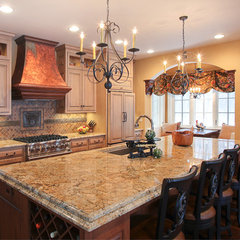 traditional kitchen by Martin Bros. Contracting, Inc.