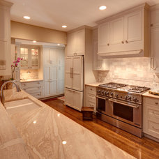 Traditional Kitchen by Mary McGaughy Interiors