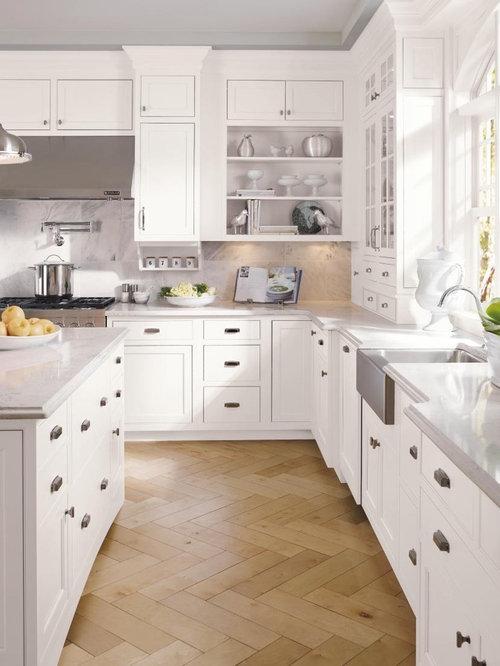 Houzz Bianco Carrara Countertop Design Ideas Amp Remodel