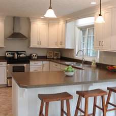 Traditional Kitchen by Mauk Cabinets by Design