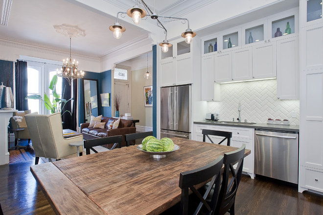 Traditional Kitchen by Melissa Lenox Design