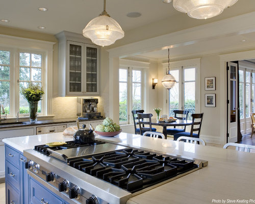 Kitchen Island With Oven And Stove Top ~ Stove top in island houzz