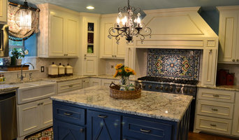 Updated Nantucket meets French Kitchen familyroom