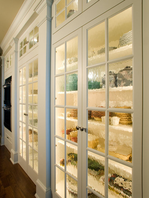 Houzz | Seeded Glass Cabinets Design Ideas & Remodel Pictures