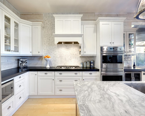 Best Super White Grey Goose Quartzite Design Ideas Amp Remodel Pictures Houzz