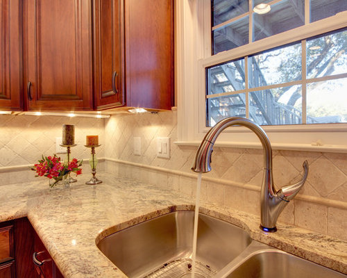 Sienna Beige Granite Ideas, Pictures, Remodel and Decor