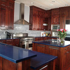 Kitchens with White Cabinets - Traditional - Kitchen Cabinetry - raleigh - by Granite ...