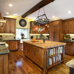 traditional kitchen by Precision Cabinets & Trim