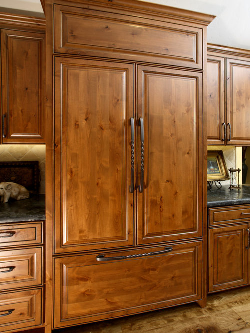 Stained Knotty Alder | Houzz