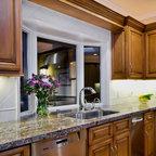 Bay Window over Kitchen Sink - Traditional - Kitchen - Bridgeport - by Kitchen & Bath Design ...