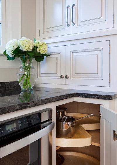 Guida houzz: risolvere i problemi di spazio delle cucine ad angolo