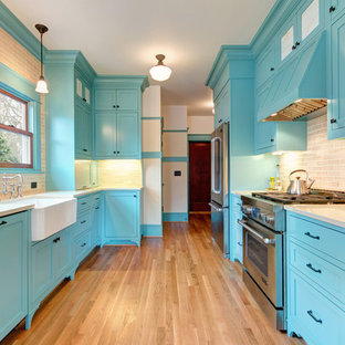 Traditional Kitchen Remodel in Portland Oregon Bungalow