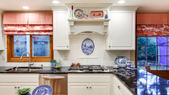 Traditional Kitchen Restyled in White
