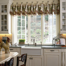 Traditional Kitchen by Robin Baron Design