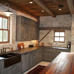 traditional kitchen by RusticSinks.com