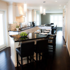 Contemporary Kitchen by Sarah St. Amand Interior Design