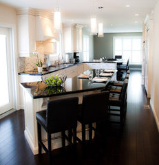 contemporary kitchen by Sarah St. Amand Interior Design - Brantford, Ont.