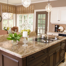Traditional Kitchen by Sarah St. Amand Interior Design