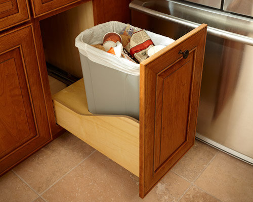 kitchen trash can ideas trash can houzz 20134