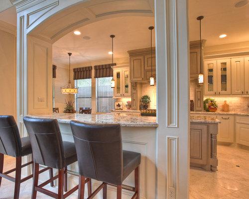 Kitchen Breakfast Bar Designs photo - 3