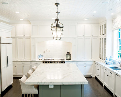 White Traditional Kitchens Ideas, Pictures, Remodel and Decor