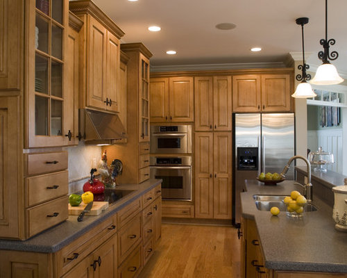 Maple Nutmeg Cabinets Cabinets Matttroy