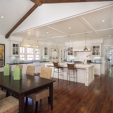 Traditional Kitchen by square three design studios