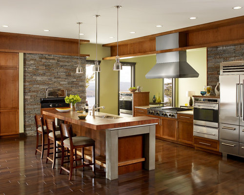 Modern Wood Kitchen modern wood kitchens | houzz