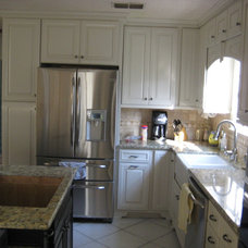 Traditional Kitchen by Sunshine Menefee