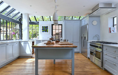 Kitchen Tour: A Classic Kitchen Adapted for a Tricky Glazed Extension