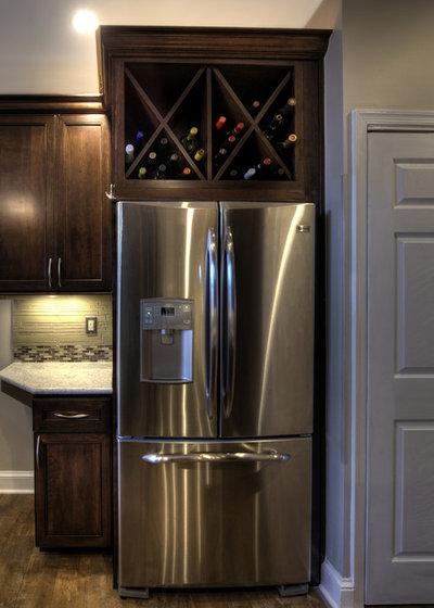 Storage Space Gem: Above the Refrigerator