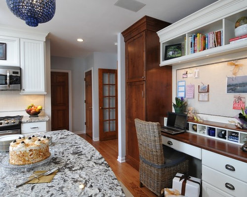Wonderful Example Of A Classic Kitchen Design In Chicago With Stainless Steel  Appliances And Granite Countertops Part 9
