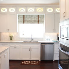traditional kitchen by Traci Connell Interiors