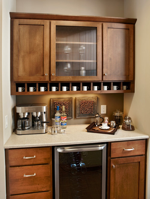 Coffee Bar Kitchen Design Ideas, Remodels & Photos