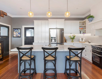 Traditional Kitchen with Butler Pantry