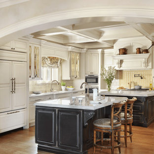 Traditional Kitchen with Custom Details