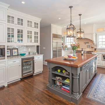 Traditional Kitchen with Extras - Norwell, MA