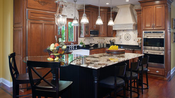 Traditional kitchen with flare