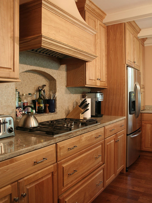 Best Red Oak Cabinet Design Ideas Remodel Pictures Houzz