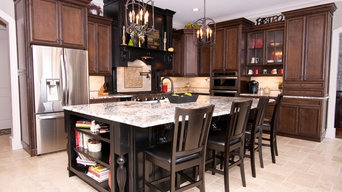 Traditional Kitchen with Storage Solutions