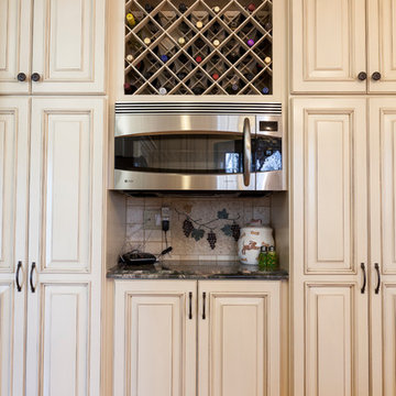Traditional Kitchen with Tuscan Touches