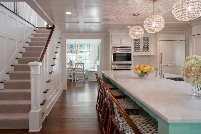Traditional Kitchen by Wright Building Company