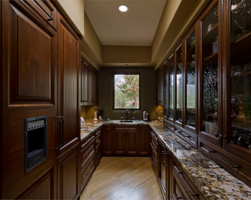 Western kitchen houzz for Western kitchen cabinets