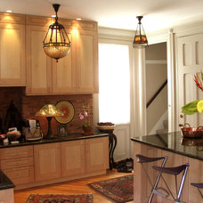 Transitional Kitchen by Bryce and Doyle Craftsmanship