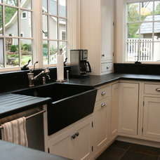 Traditional Kitchen by Bucks County Soapstone
