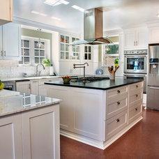 Traditional Kitchen by Kathryn W. Brown - ProSource Spokane